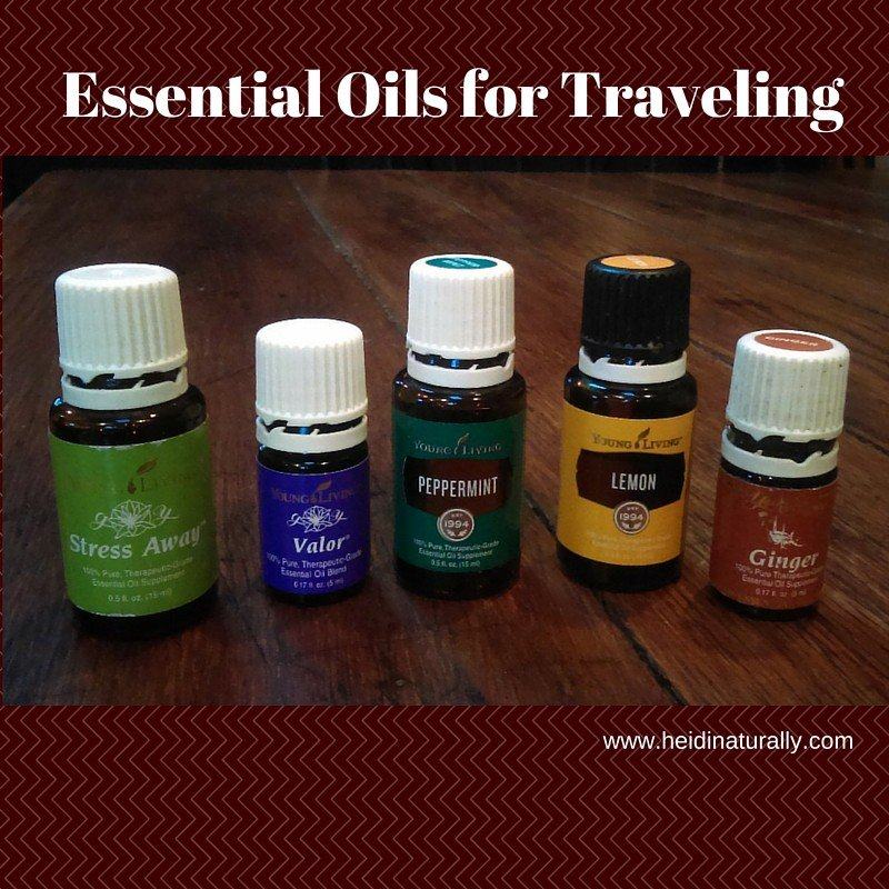 essential oils for traveling