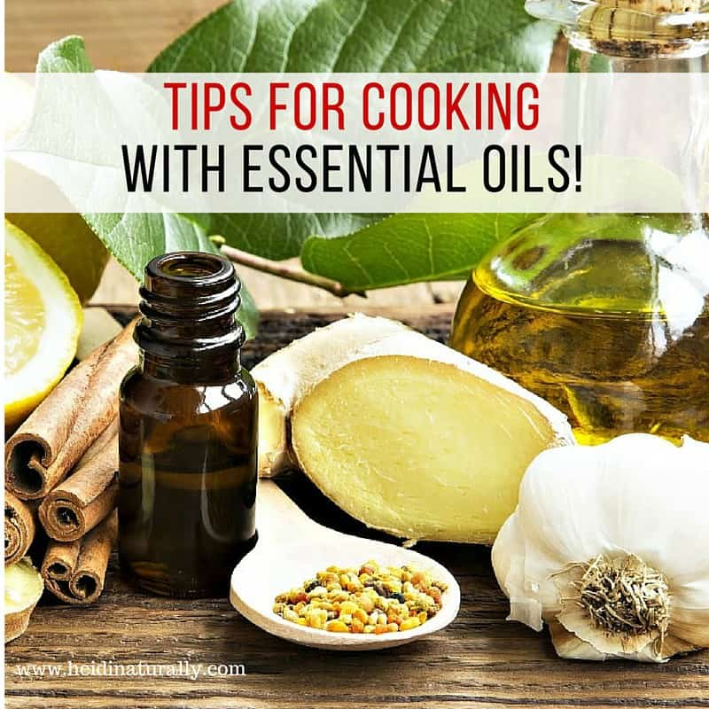 cooking essential oils