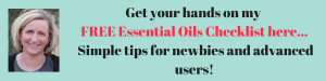 essential oil checklist