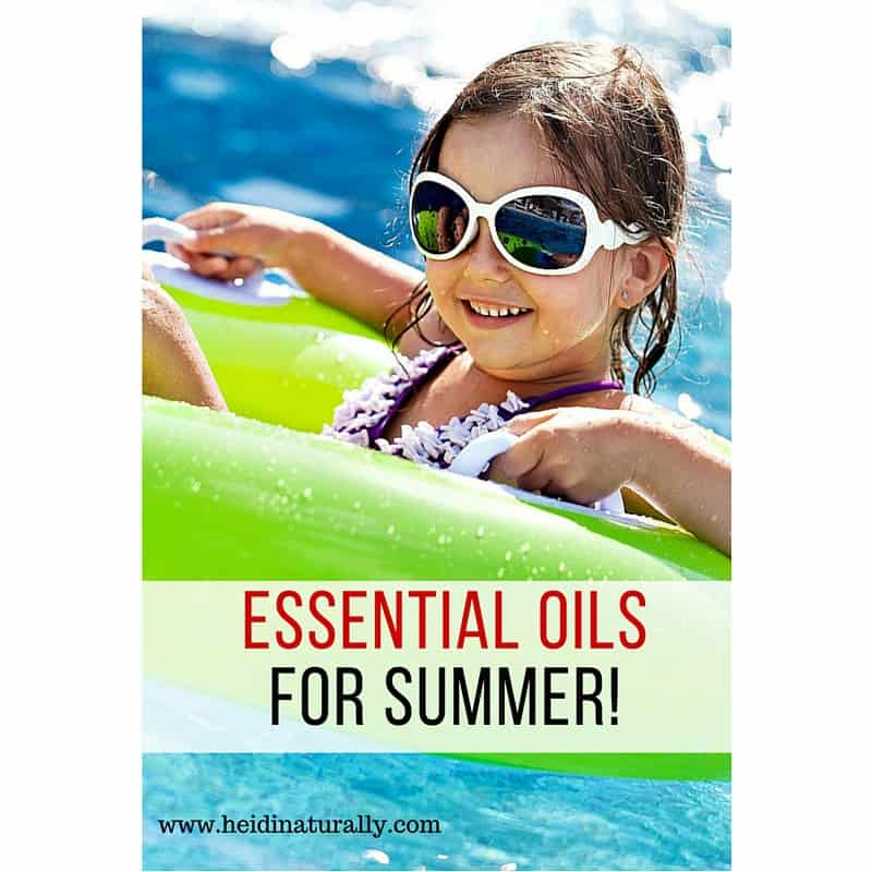 Essential oils to use in summer