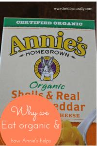 annies organic