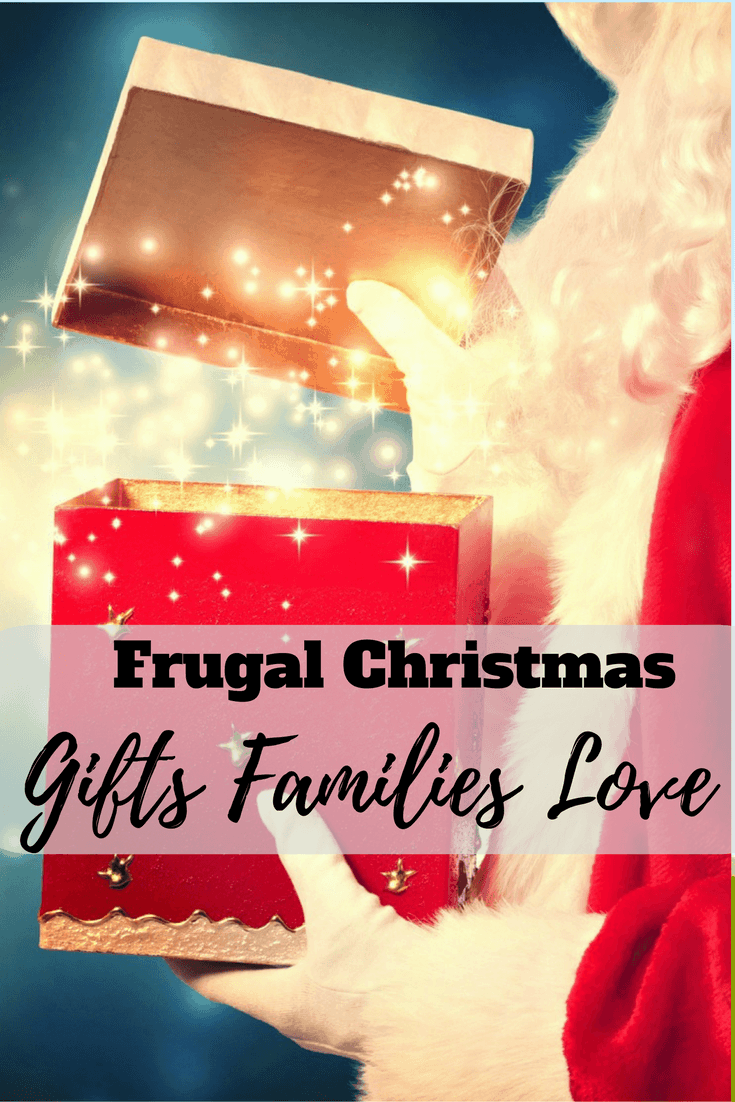 Find out the best frugal Christmas gifts to give that people will love. Learn where and how to shop to find just the right gift at the right price.  #christmas #christmasgift #giftideas #ideas #frugal #save #savemoney #money #dollarstore #toys #games #puzzles #fun #bags #dollarstore #thrift #thriftstore #family