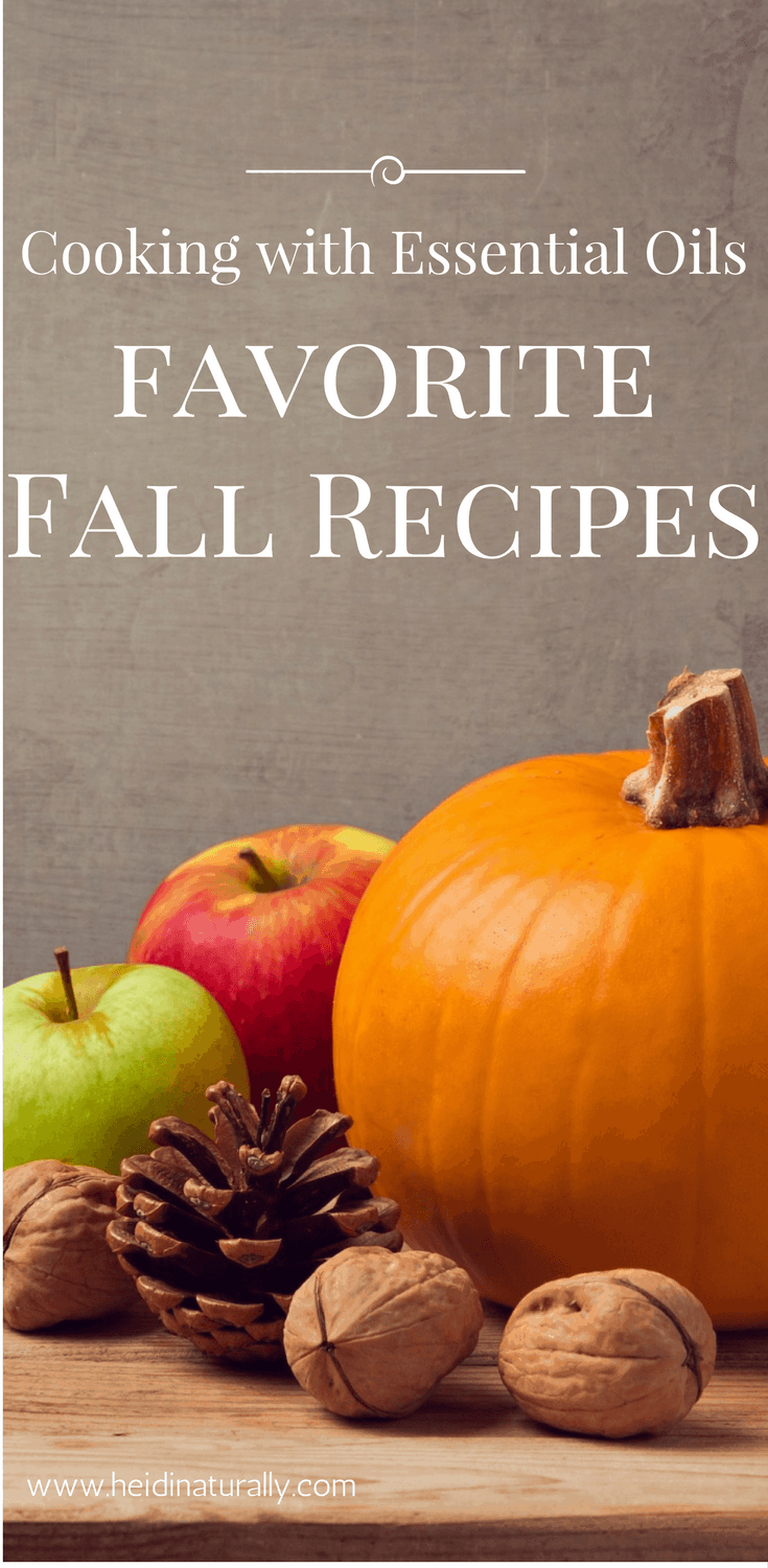 Learn how to cook with essential oils using these favorite Fall recipes. Get complete instructions and essential oil information and tips.  #cookingwithessentialoils #essentialoils #cooking #heidinaturally #recipes #essentialoilrecipes #fallrecipes #fall #essentialoilsforfall #autumn #pumpkin #pumpkinspice #butternutsquashsoup #squashsoup #cinnamonrolls #cinnamon #cinnamonbark #orangeoil #orange #ginger #gingeroil