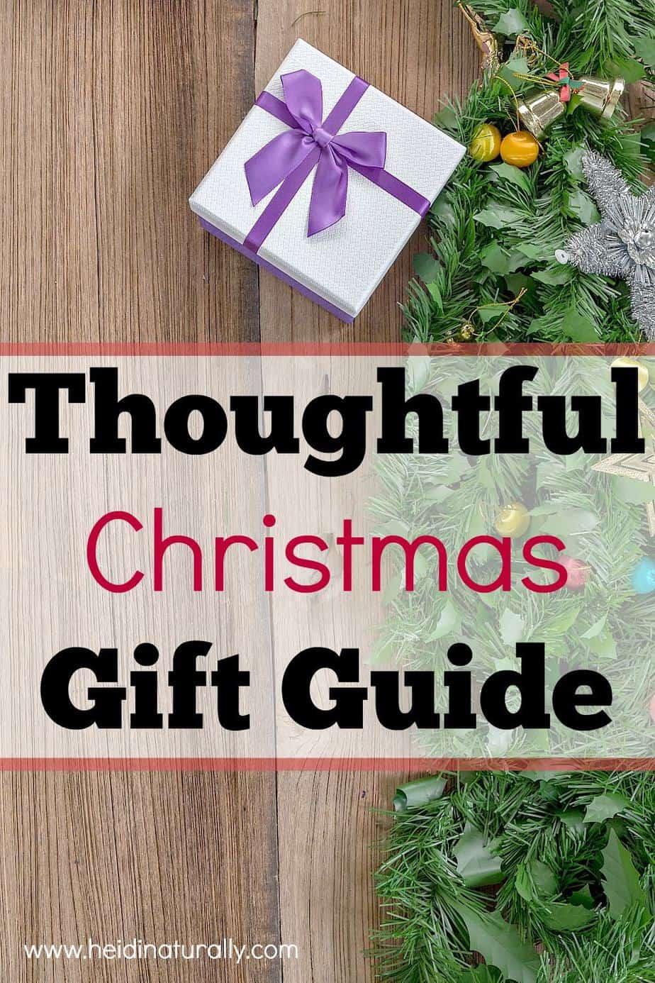 Get this comprehensive Christmas gift guide and learn how to give thoughtful gifts your family and friends will love - recommendations for all ages!