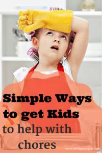 Getting Kids Help Around the House