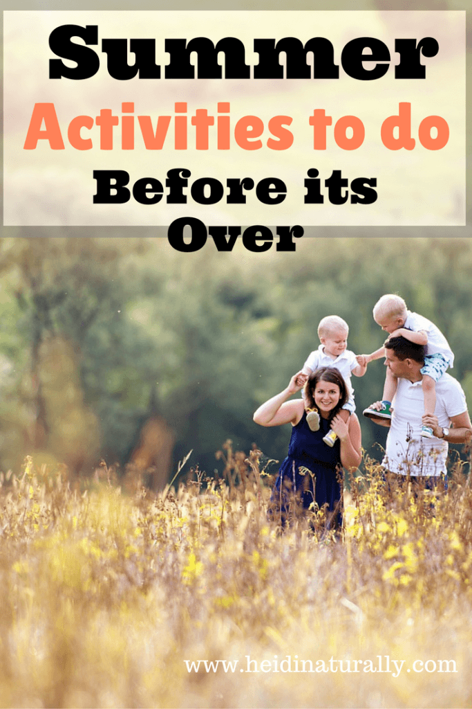 summer activities to do with kids