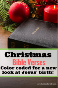 Christmas Bible Verses Color Coded – Free Printable