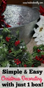 Simple Christmas Decorations – Festive Home All in One Box