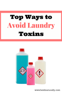 Top Ways to Avoid Laundry Toxins