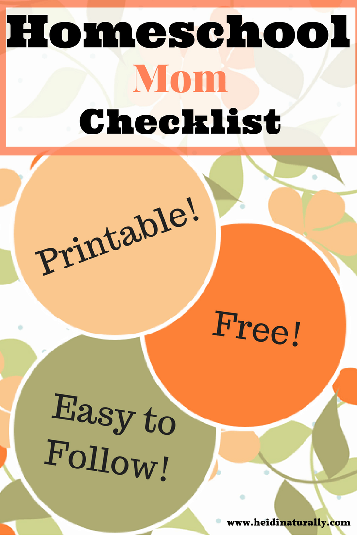 Use this handy homeschool checklist and use it to help you guide your day. Learn where to focus your efforts and how to make progress towards your goals.
