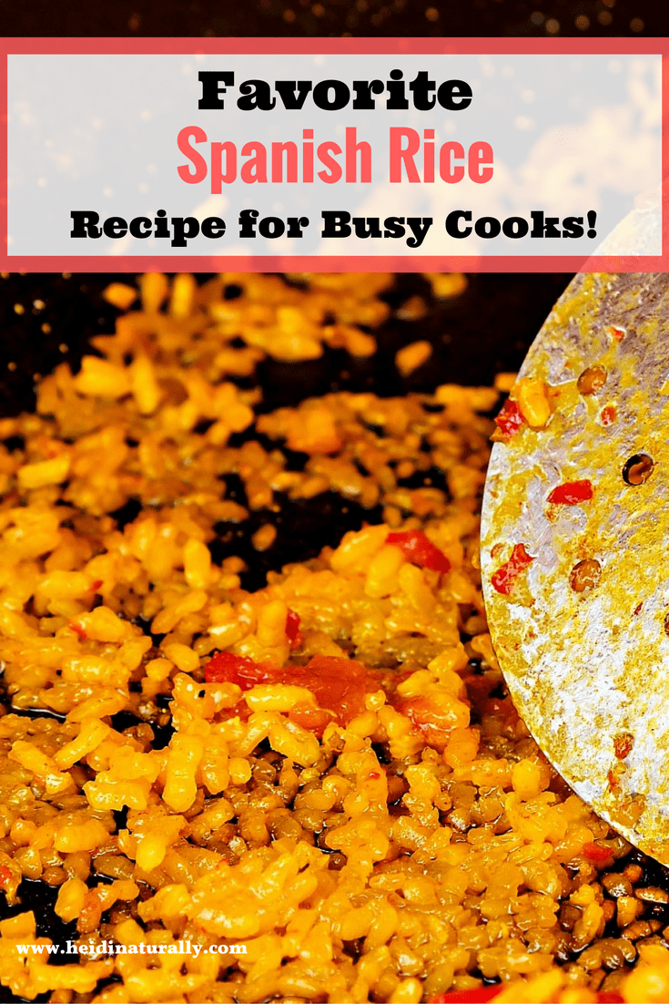 Find out how to make a family friendly version of Spanish Rice. Learn how to cook simply and easily so you can enjoy time with family.