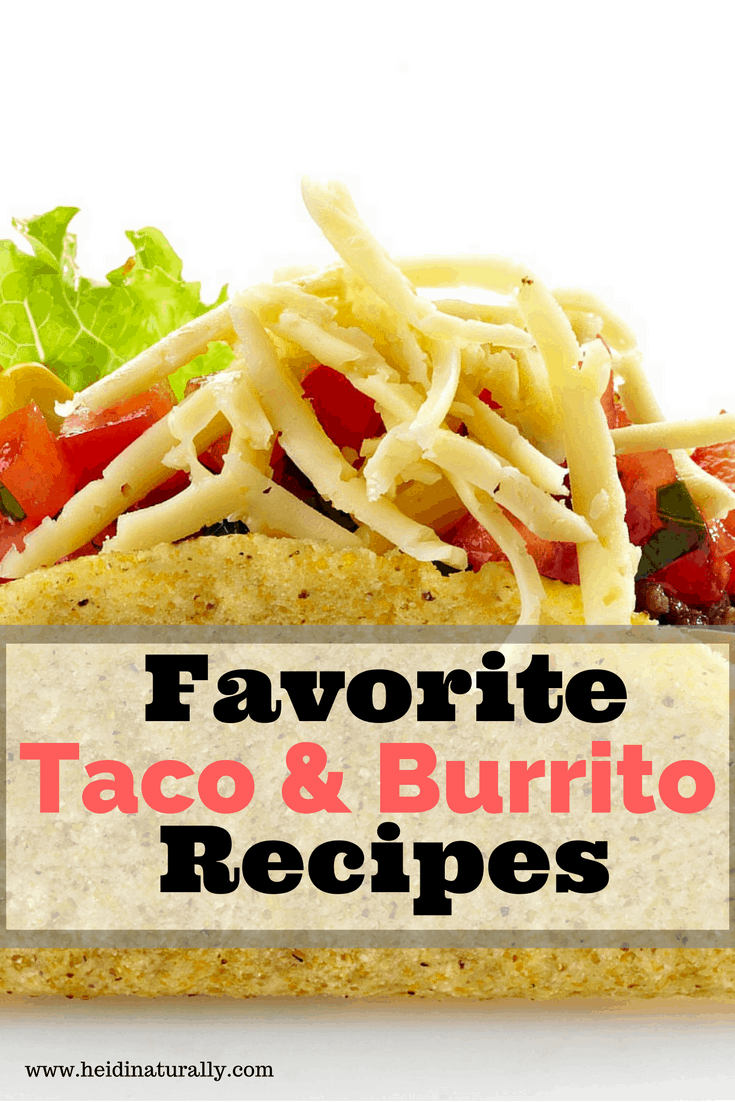 Learn our favorite way to make tacos & burritos along with my special homemade chili seasoning mix to have on hand for all Mexican dishes.