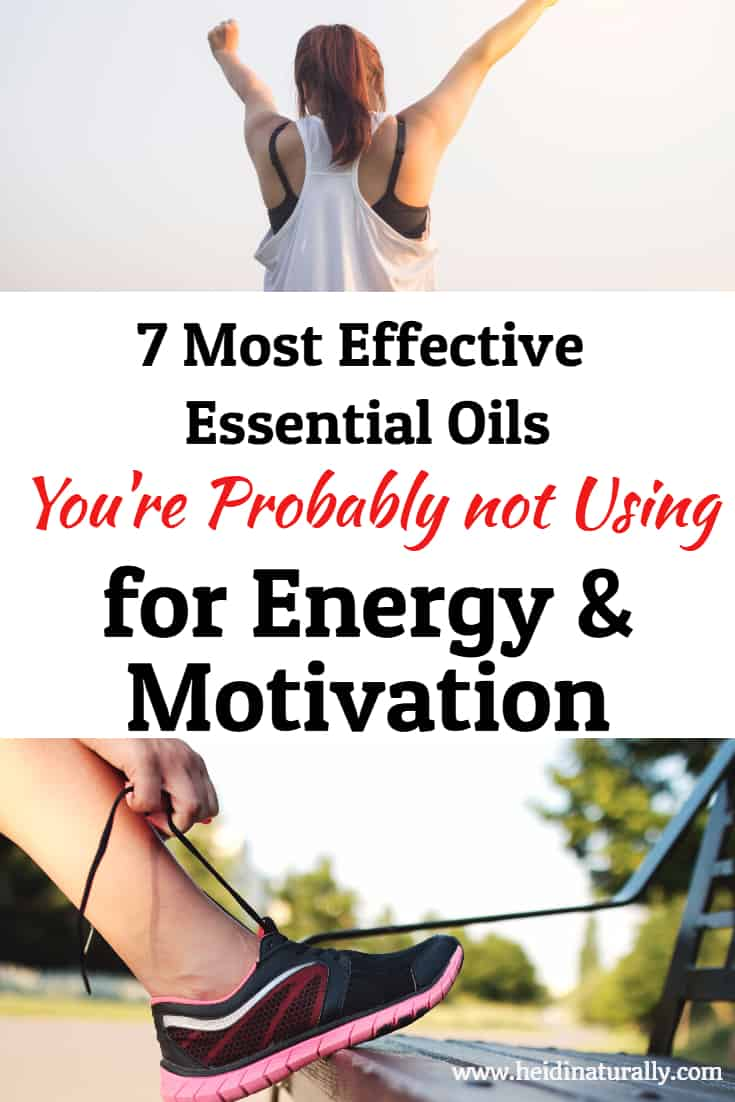 Find out which how to use essential oils for energy and motivation. Learn which oils are most powerful and how to use them effectively. #energy #essentialoils