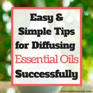 diffuse essential oils