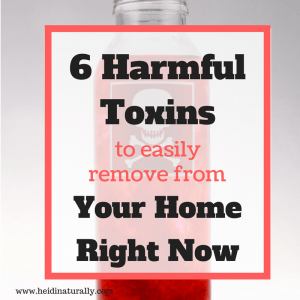 Harmful toxins to remove