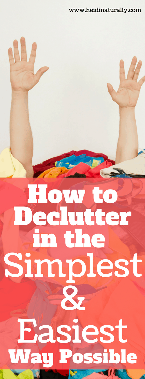 Tired of clutter but don't know where to start? Learn how to use this simple plan for minutes a day to declutter your whole house with little stress.