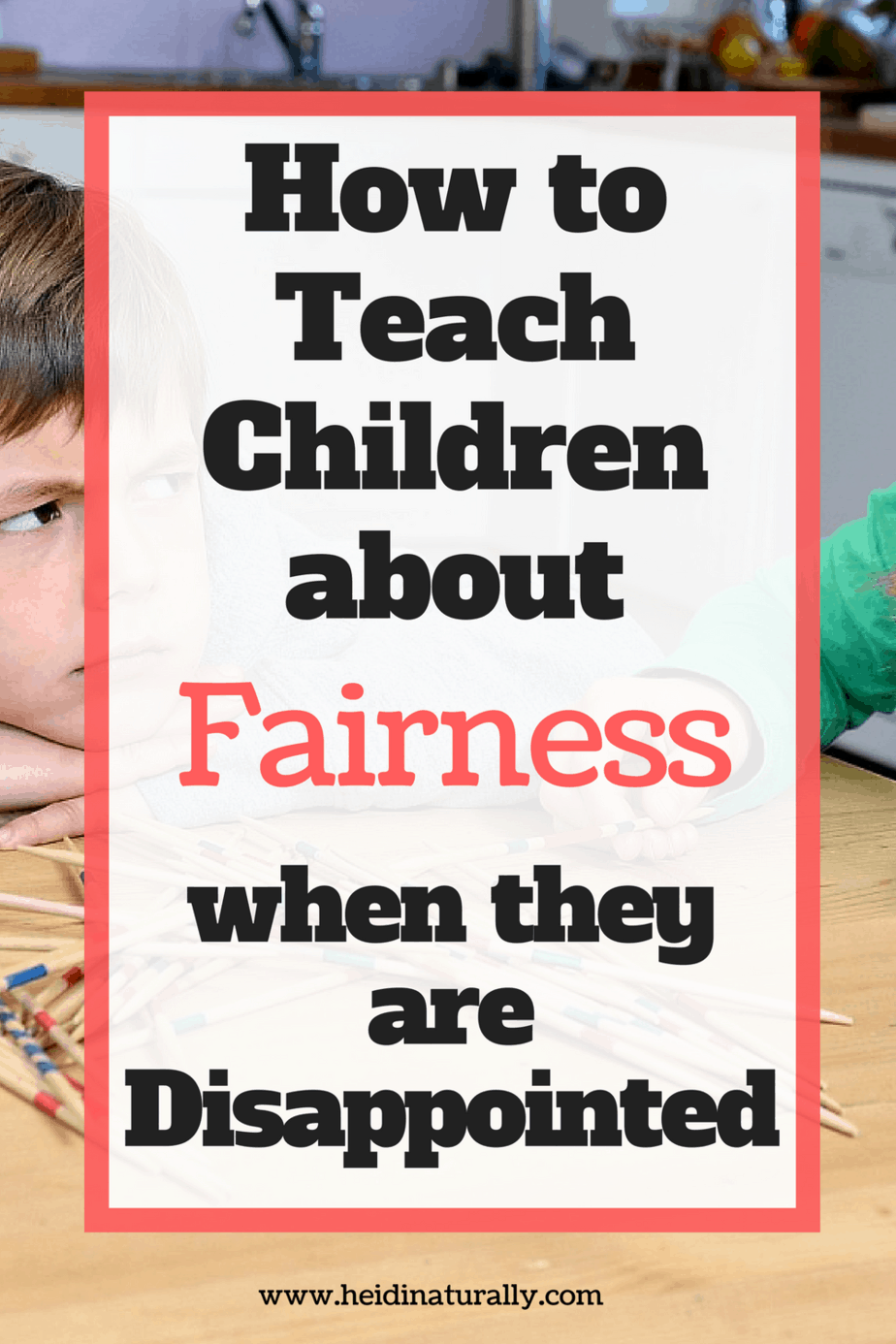 Fairness is an important part of life that is often not achieved. Learn how to teach children when to speak up and when to look for gratitude.