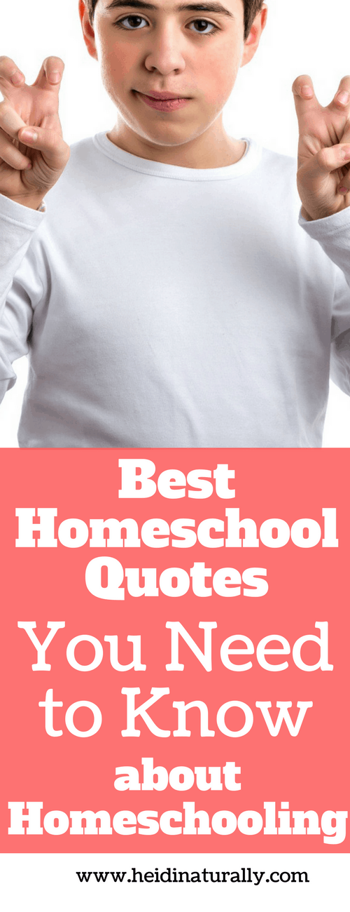 Find out the favorite homeschool quotes for moms to help encourage them and stay focused. Learn from educators and authors how to homeschool successfully.