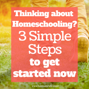 start homeschool