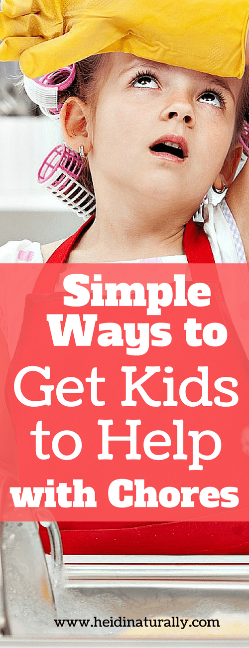 Find out the 3 tips to use to get kids help with house maintenance. Learn how to order their world to help them understand how and why to help. #kidchores