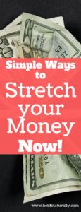 stretch your money