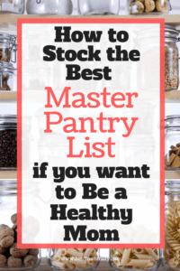 master pantry