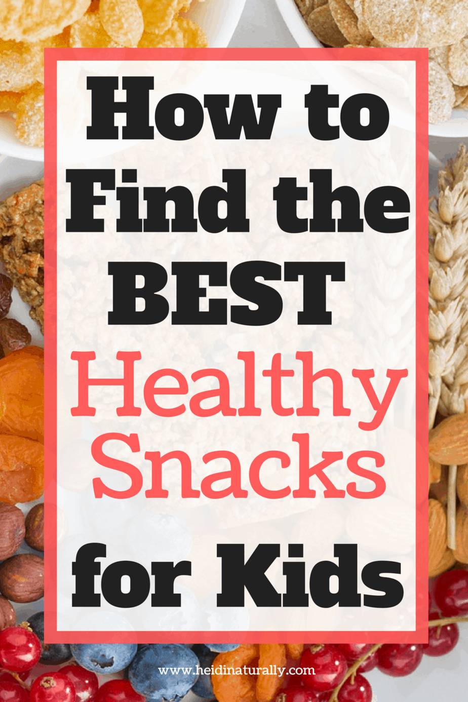 Learn what healthy snacks are good for kids and adults. Get recipes and ideas of what to make and get to help your family live in health.
