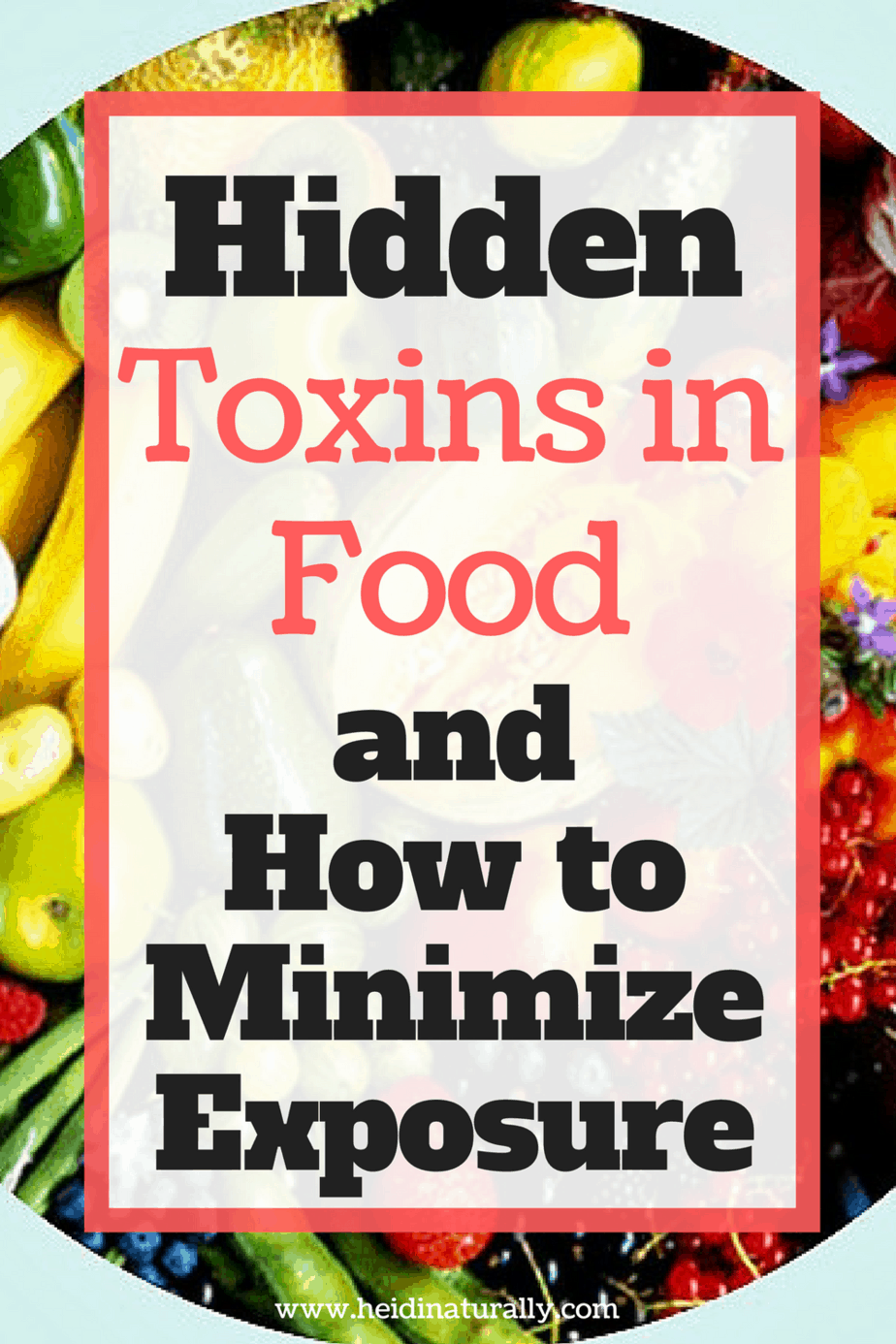 Find out what food toxins are most dangerous and why. Learn why we have toxins and what to do about them without spending a fortune.