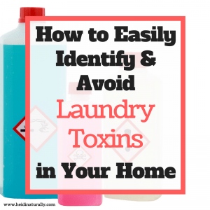 avoid laundry toxins