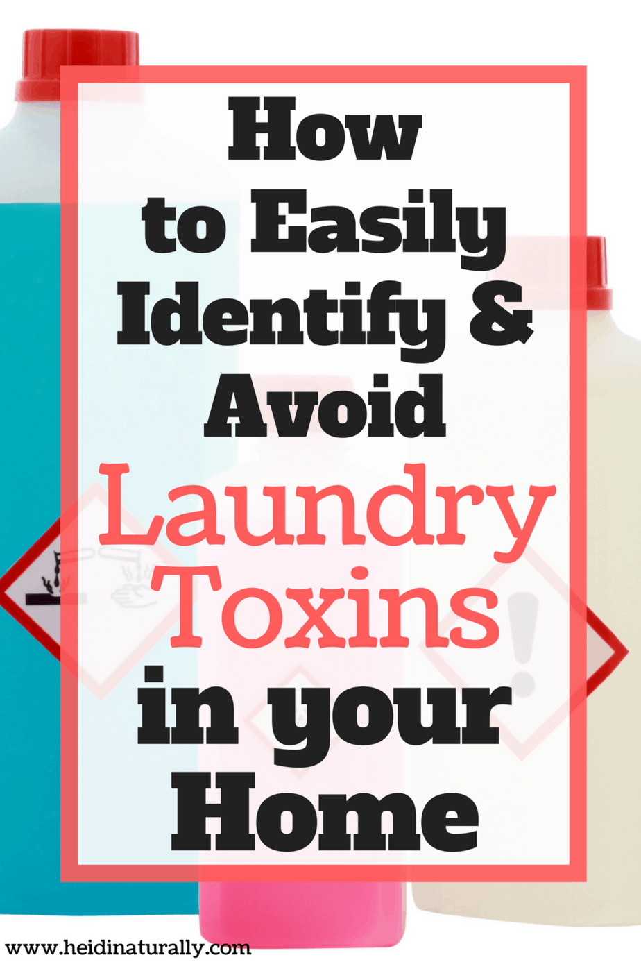Find out how to avoid using laundry toxins that could be harmful to your family. Get the facts and learn what to use instead of chemicals.