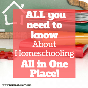 homeschool information