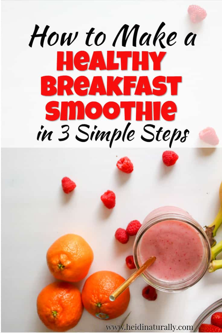 Learn how to make a healthy breakfast smoothie that tastes great and uses simple ingredients. Get this favorite breakfast smoothie recipe and make a great variety of good tasting smoothies that are good for you. Find out exactly what to add to your recipe for great results. #smoothie #breakfastsmoothierecipe #recipe