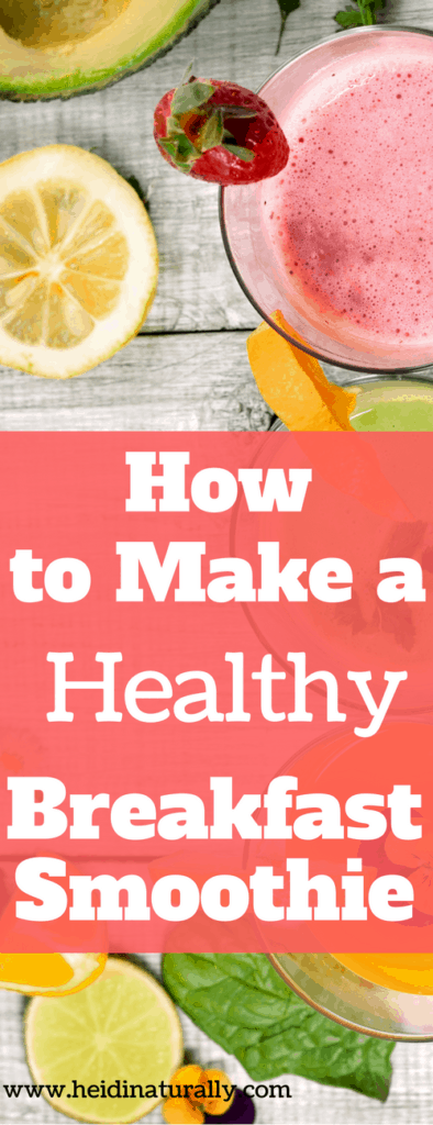 Learn how to make a healthy breakfast smoothie that tastes great and uses simple ingredients. Find out exactly what to add to your recipe for great results.