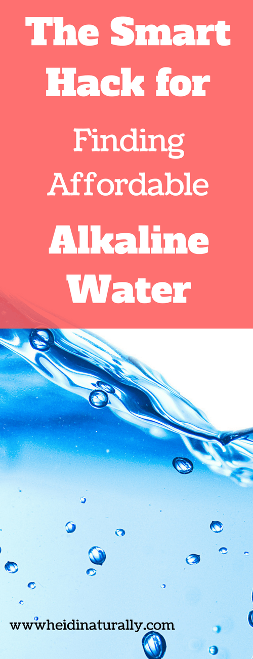 Find out how to find affordable alkaline water for your family. Learn why water zappers need help and what patented source to use instead.