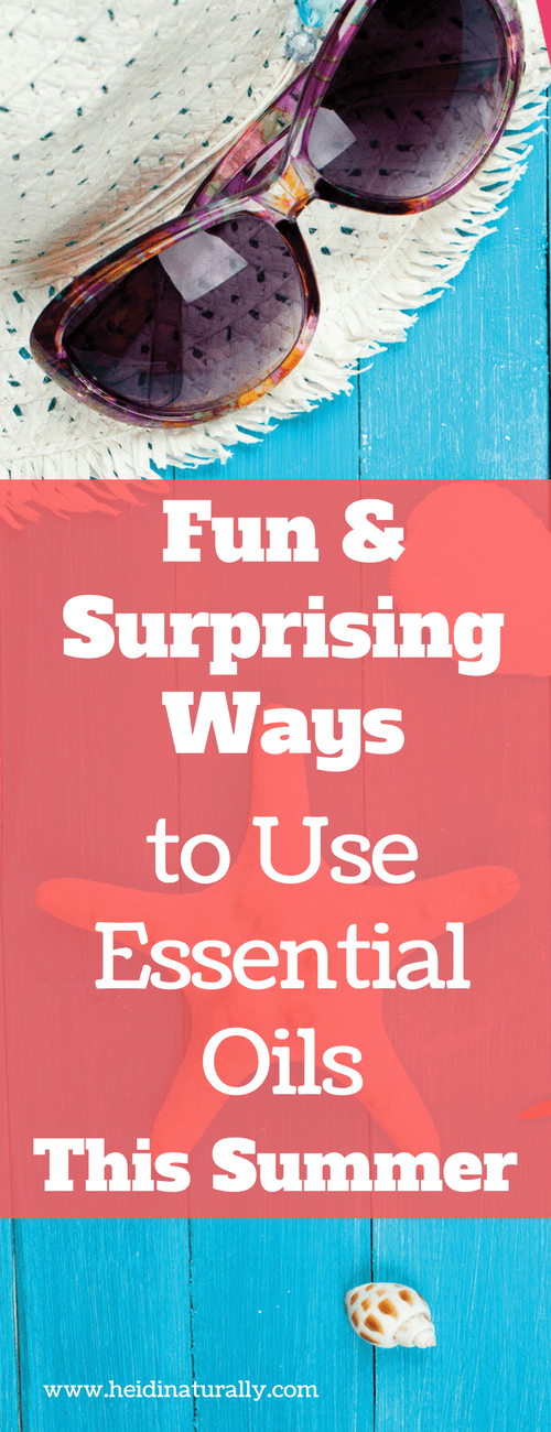 Find out the fun and surprising ways your family can use essential oils this Summer. Get the best recipes, products and options for using oils effectively.