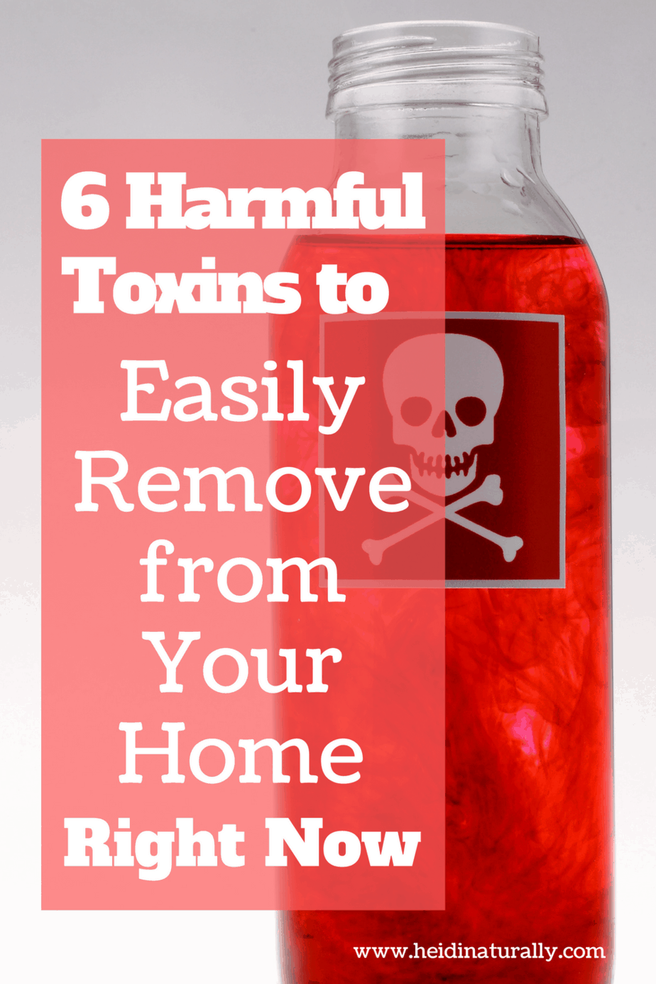 Learn the 6 harmful toxins that are easy to remove & swap out for healthier alternatives. Learn what to use instead and protect your family.
