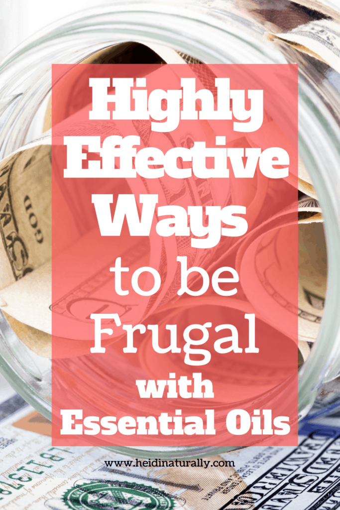 how to use essential oils frugally, frugal mom, how to save money on essential oils