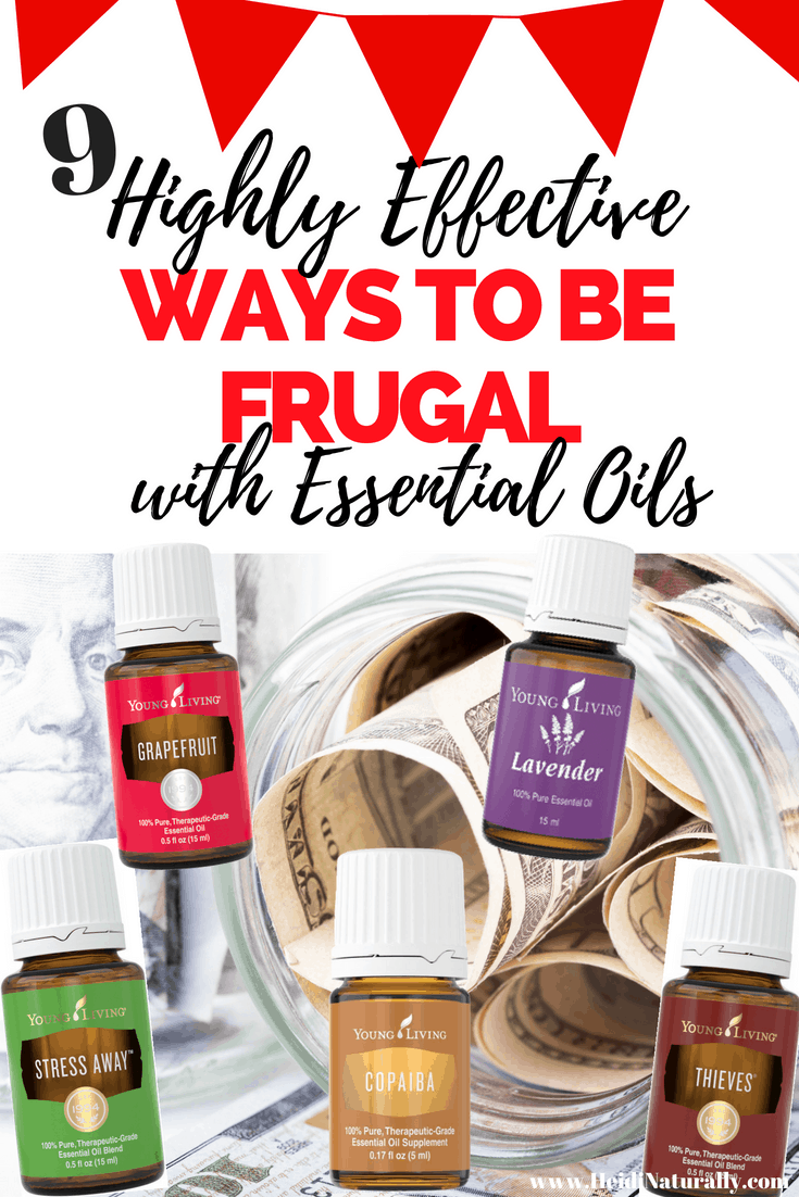 Find out which essential oils will help live a frugal lifestyle. Learn ways to save money and how to use oils effectively from a money saving mom. #waystobefrugal #essentialoils #frugalmom #frugalessentialoils