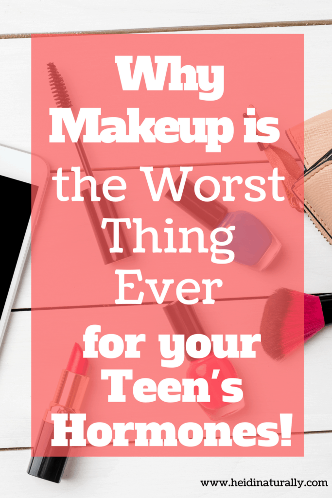 Find out what makes makeup harmful to teen hormones along with ingredients to avoid. Learn what to substitute instead for healthy hormone levels.