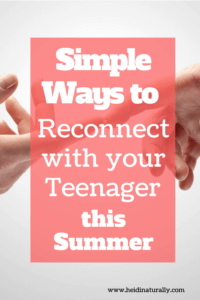 Want to reconnect and have a better relationship with your teenager? Follow these simple tips and ideas to naturally improve connection easily each day.