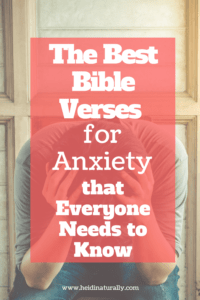 Find out how to get rid of anxiety, stress and fear with these amazing Bible verses. Learn what to say and do to live an overcoming life.