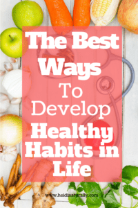 Develop the best healthy habits for success in life with these tips. There is no reason to be stuck in life. Learn how to make good personal habits work for you.