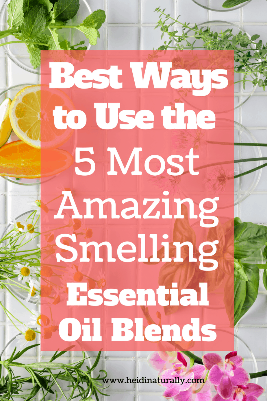 Find out which essential oil blends smell the best and how to use them most effectively. Learn what oils smell amazing and how to use them daily.