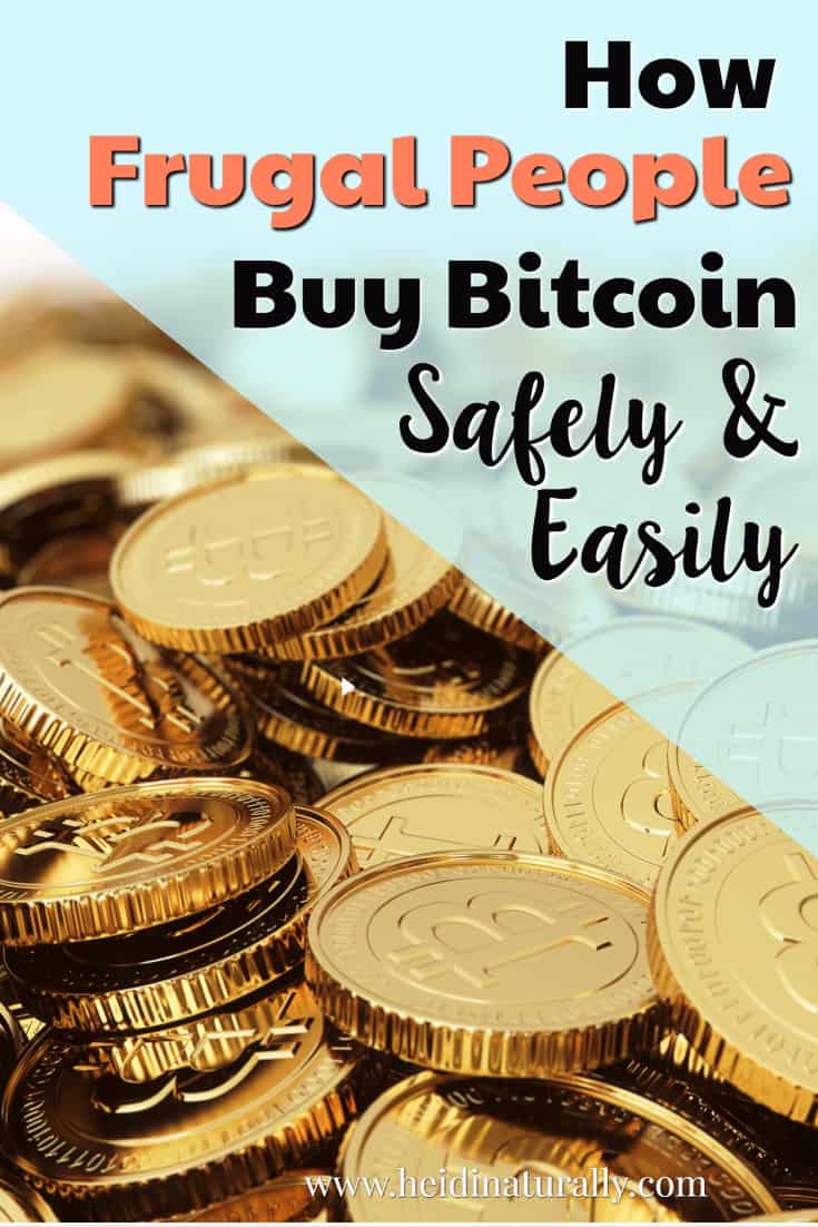 Find out how frugal people buy Bitcoin safely and easily. Follow this simple guide to help you navigate how and where to buy Bitcoin online.