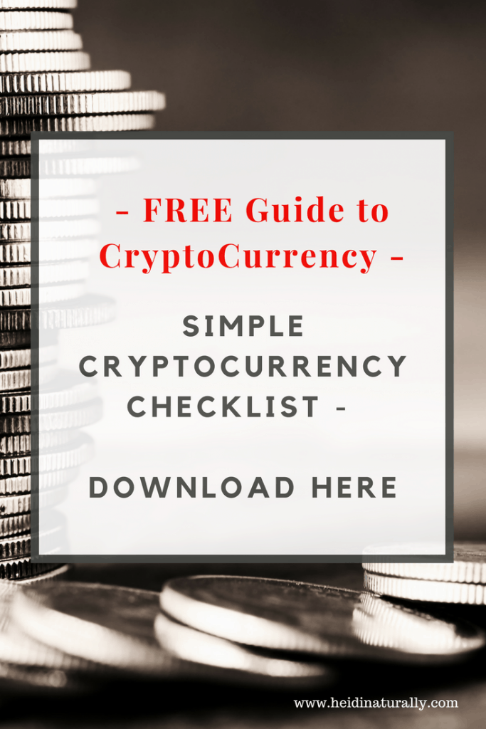 cryptocurrency checklist