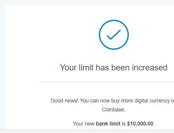 bitcoin limit