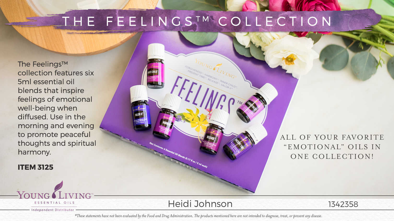 essential oil feelings collection