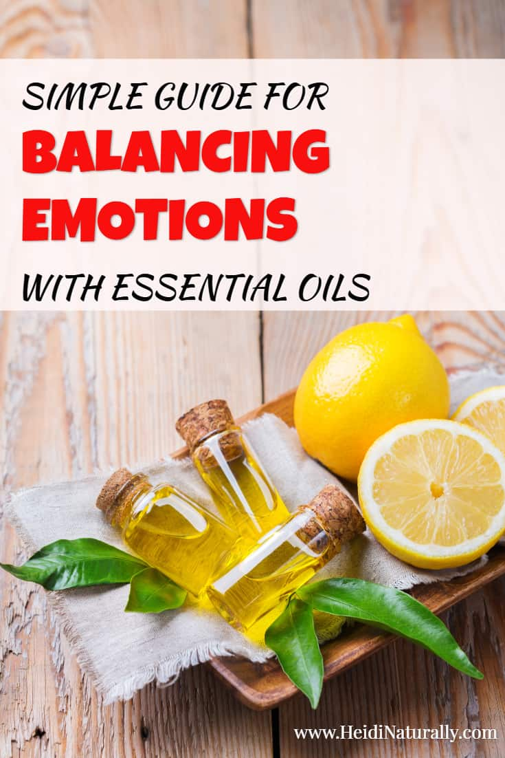 Find out how to support healthy emotions with essential oils with this simple and easy guide. Get all the information you need to know how to use essential oils safely and effectively for all ages. #essentialoilsforemotions
