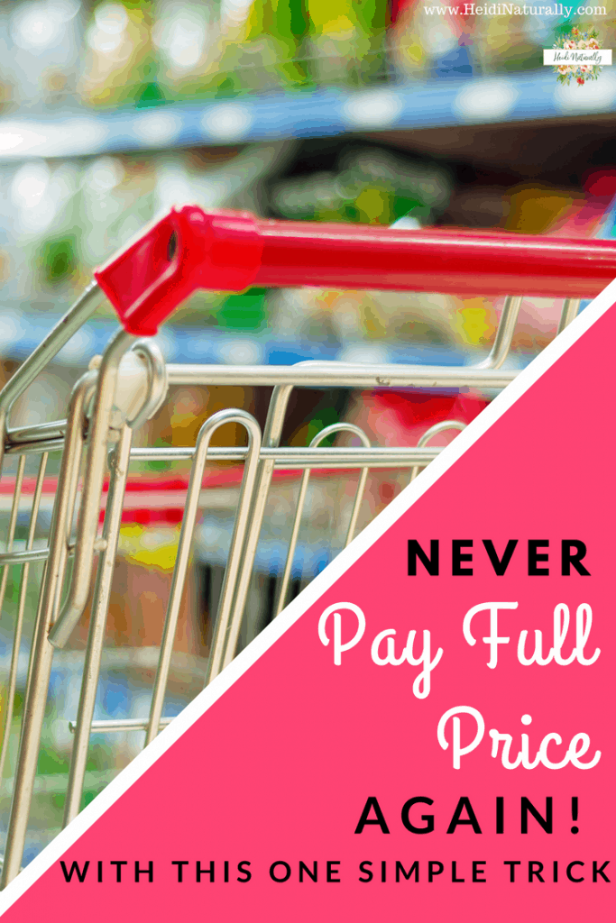 never pay full price