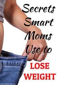how moms lose weight